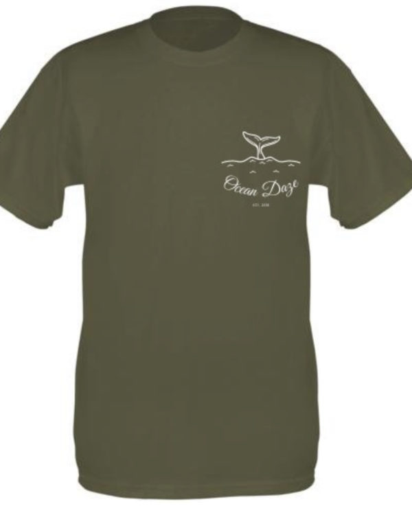 Whale Tail Small Logo Men's