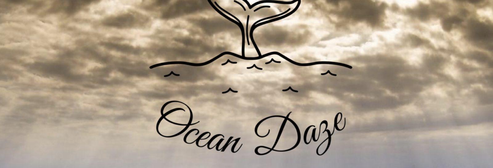 Ocean daze stormy sky